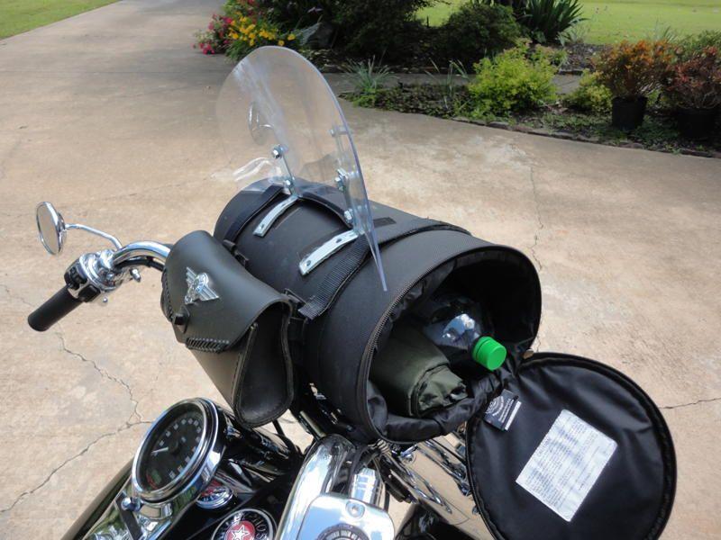 Mini Bike Windshield : Windshield bags for motorcycles style guru fashion